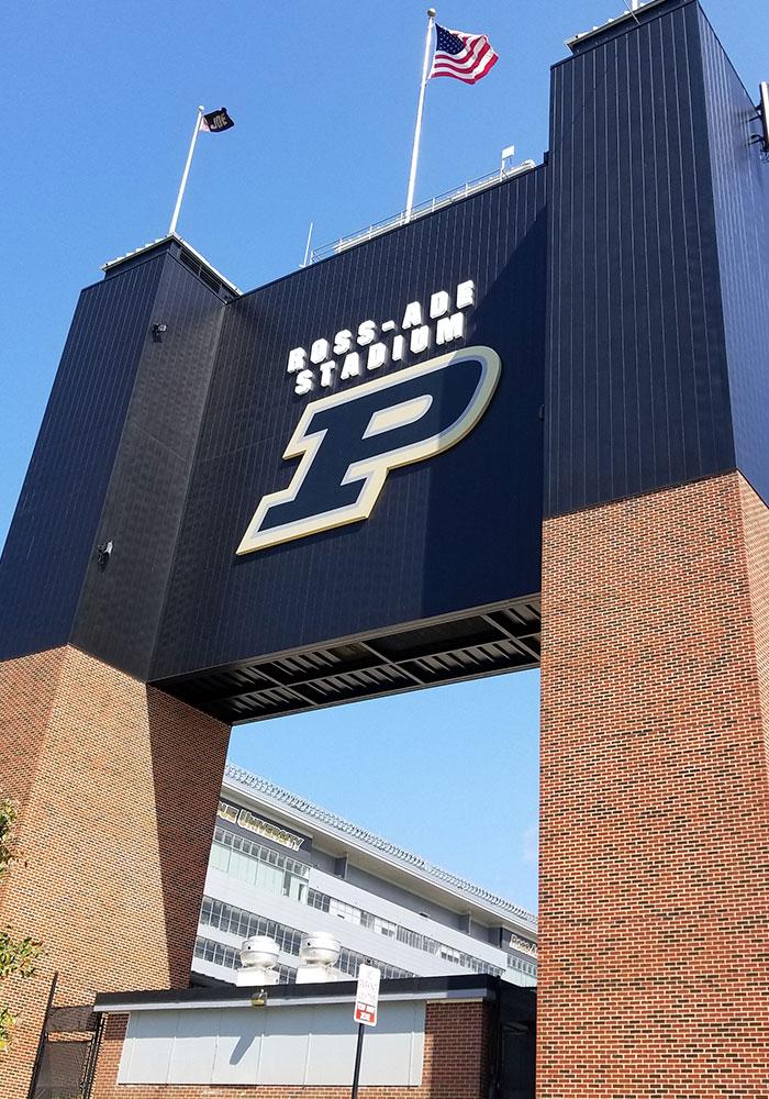 Purdue Football Scoreboard