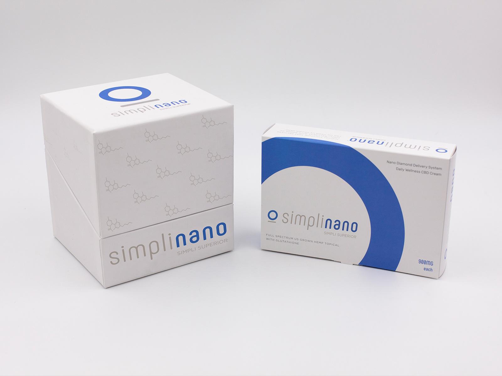 SimpliNano Tiered Packaging