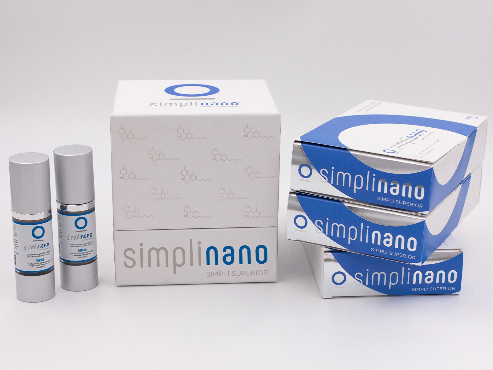 SimpliNano Tiered Packaging and Product Label