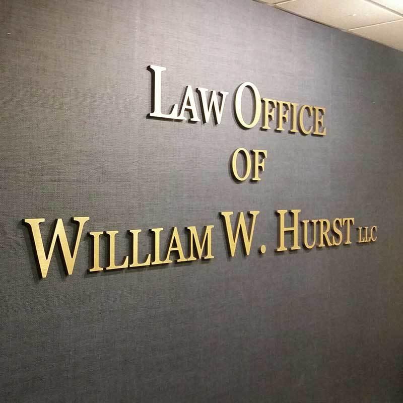 Hurst Law sign