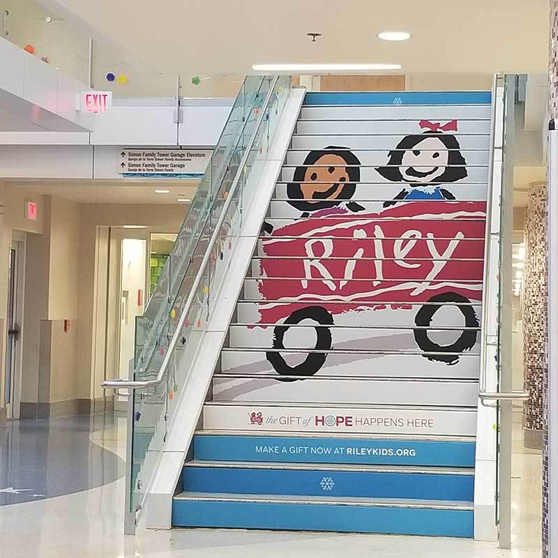 Riley stairs